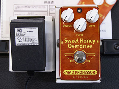 Mad Professor Sweet Honey Overdrive Hand Wiredのサムネイル