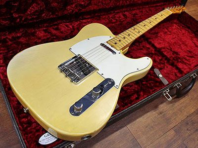 Fender USA Telecaster '72 Blondeのサムネイル