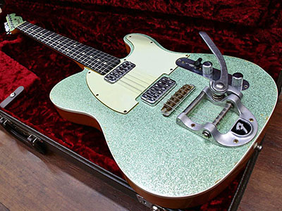 Fender Custom Shop Telecaster Relic TVJ Surf Green Sparkleのサムネイル