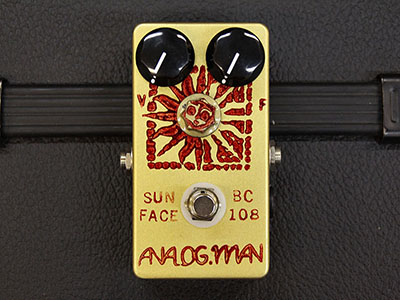 Analogman Sunface Vintage BC-108 with Sun Dial & DC Jackのサムネイル