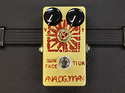 Analogman Sunface '68 Texas Instr (UK) Germa Mil Spec with DC Jackのサムネイル