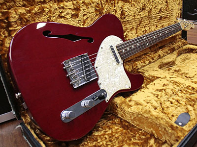 Fender Custom Shop Mahogany Thinline Telecaster のサムネイル
