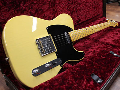Freedom Custom Guitar Research S.O.TE 50's M1P LwAsh1P BSB 50's Telecaster Type Butterscotch Blonde のサムネイル
