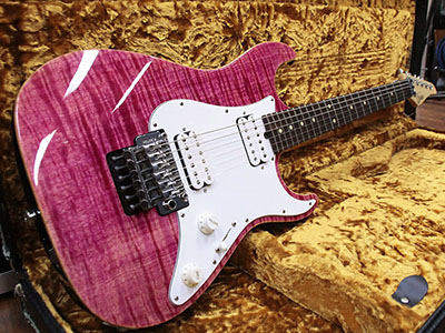 Suhr Pro Series S6 Magenta Pink Stainのサムネイル