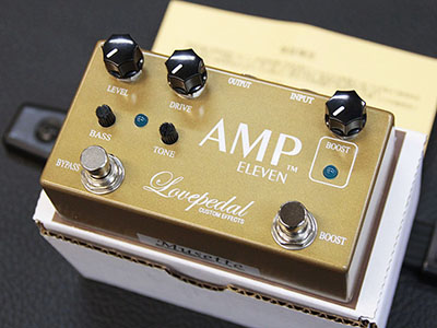 Lovepedal Amp Eleven Goldのサムネイル