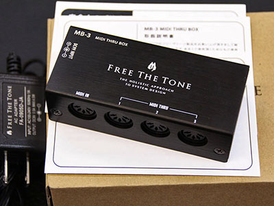 Free The Tone MIDI THRU BOX MB-3のサムネイル