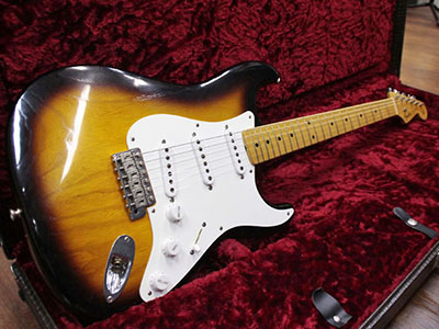 Fender Custom Shop Master Built 50th Anniversary 1954 Stratocaster Relic 2TB by Christopher W. Flemのサムネイル