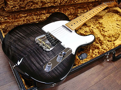 Fender Custom Shop Custom Deluxe Telecaster Flame Maple Top & Neckのサムネイル