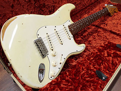 Fender Custom Shop 1969 Stratocaster Relic Olympic Whiteのサムネイル