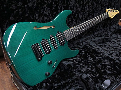 Suhr Standard Trans Teal Ebony Fingerboardのサムネイル