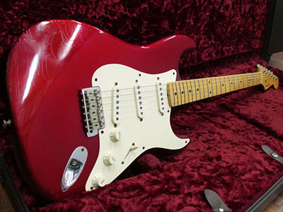 Fender Custom Shop Master Built 1956 Stratocaster Relic Candy Apple Red by Todd Krauseのサムネイル