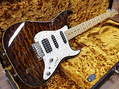 Tom Anderson Drop Top Classic Burnished Orange Burstのサムネイル