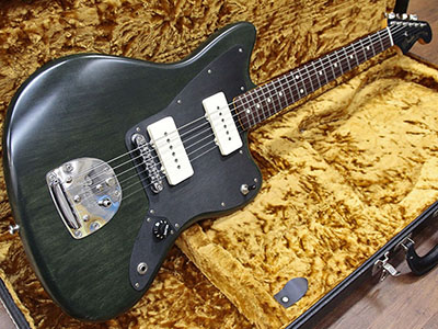 Fender USA Thurston Moore Jazzmaster Forest Green Transparentのサムネイル