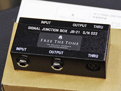 Free the Tone SIGNAL JUNCTION BOX JB-21のサムネイル