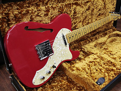 Vanzandt TLV-10th Anniversary Thinline Fiesta Redのサムネイル