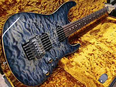 Suhr Modern Faded Trans Whale Blue Burstのサムネイル