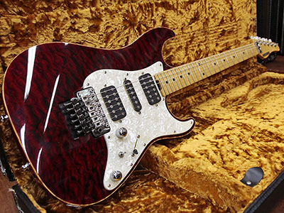 Schecter EX-V-22-CTM FRT FM BKCH Flame Maple Neckのサムネイル