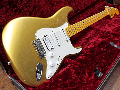 Fender Custom Shop Master Built 1966 Stratocaster Closet Classic Aztec Gold by Todd Krauseのサムネイル