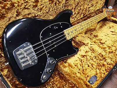 Fender USA Mustang Bass '77-78 Blackのサムネイル