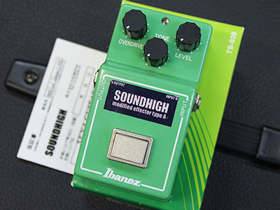 SOUNDHIGH modified Ibanez TS-808 type Aのサムネイル