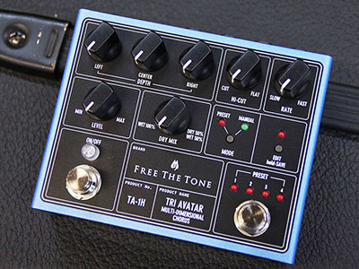 Free The Tone TRI AVATAR Multi-Dimensional Chorus TA-1Hのサムネイル
