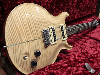 Paul Reed Smith(PRS) Private Stock Santana II Natural Brazilian Fingerboard and Headstock Veneerのサムネイル
