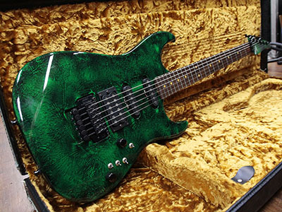 Tom Anderson Pro Am Green & Black Bowling Ballのサムネイル