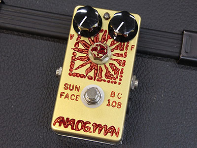 Analogman Sunface Vintage BC-108 with Sun Dial & DC Jack & LEDのサムネイル