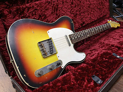 Nash Guitars TC63 3TBのサムネイル