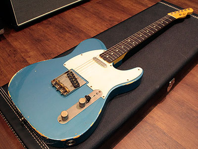LSL INSTRUMENTS T-Bone Old Lake Placid Blueのサムネイル