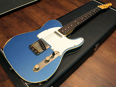 LSL INSTRUMENTS T-Bone Old Lake Placid Blue DBのサムネイル