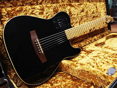Godin Acousticaster Series Tele 6 Blackのサムネイル