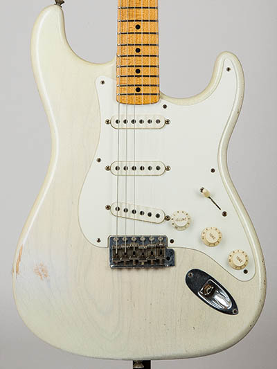 b882fc492d Fender Custom Shop Master Built 1955 Stratocaster Relic by Greg Fesler  White Blonde 2011