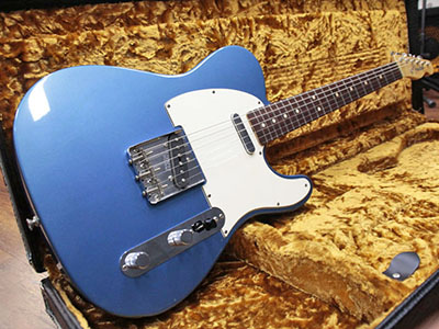 Fender Custom Shop 1963 Telecaster NOS Lake Placid Blueのサムネイル