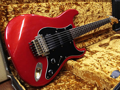 moon Stratocaster Type Metallic Red EMG PUのサムネイル
