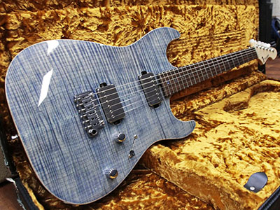 T's Guitars DST-DX22 Flame Trans Blue Denimのサムネイル