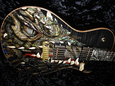 Paul Reed Smith(PRS) DRAGON 2002 Gray Blackのサムネイル