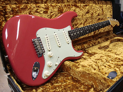 Fender Custom Shop 1960 Stratocaster NOS Fiesta Redのサムネイル