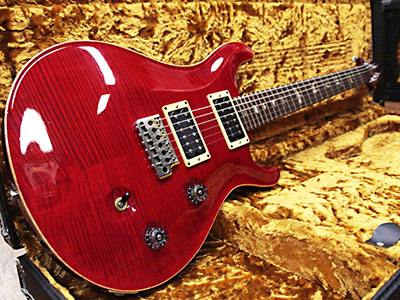 Paul Reed Smith(PRS) Custom 24 10 Top Flame Rubyのサムネイル
