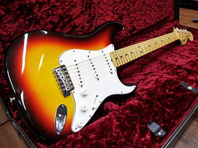 Fender Custom Shop 1969 Stratocaster NOS 3TBのサムネイル