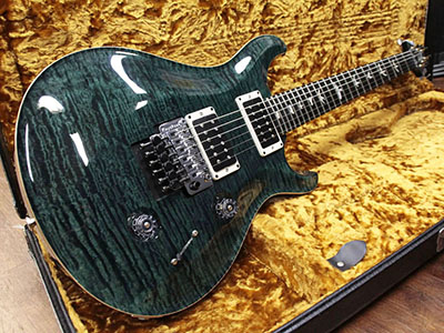 Paul Reed Smith(PRS) Floyd Custom 24 10 Top Teal Black Matched Stain Neckのサムネイル