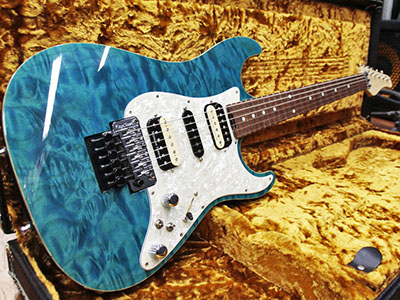 No Brand Stratocaster Type Quilt HSHのサムネイル