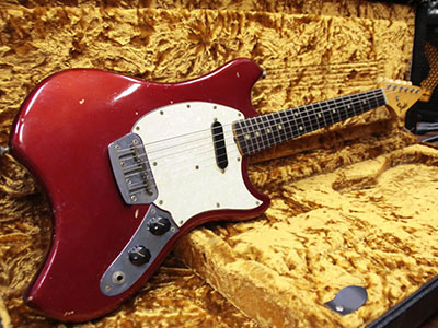 Fender USA Musiclander '69 Candy Apple Redのサムネイル