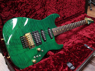 Tom Anderson Grand AM Translucent Greenのサムネイル