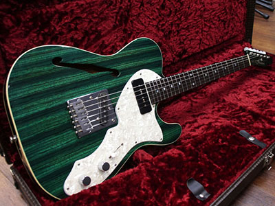 Freedom Custom Guitar Research Green Pepper Trans Greenのサムネイル