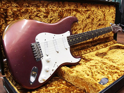 Edwards Stratocaster Type Burgundy Mistのサムネイル