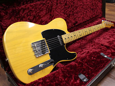 Fender USA Telecaster Blonde '77のサムネイル