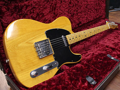 Fender USA Telecaster Natural  '78のサムネイル
