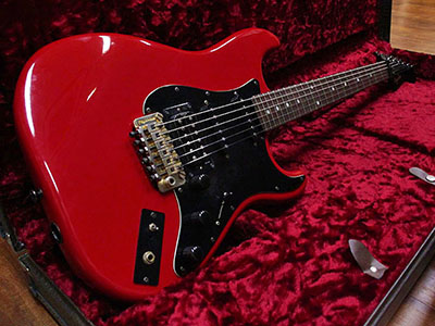 NO BRAND Stratocaster Type Red Brad Gillis Modのサムネイル