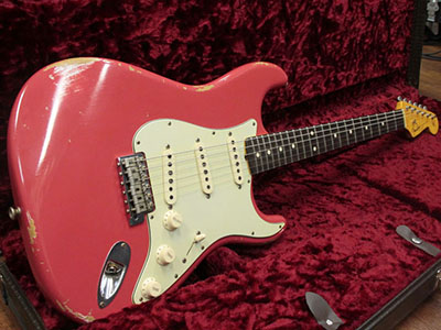 Fender Custom Shop 1961 Stratocaster Relic Fiesta Redのサムネイル